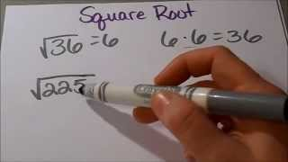 Download How to find the Square Root using Factor Tree (5th grade and up) Video