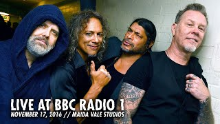 Download Metallica: Live at BBC Radio 1 (November 17, 2016) Video