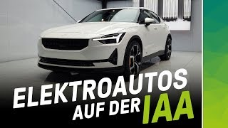 Download Elektrisierender Messerundgang: IAA Elektroauto Highlights 2019! Video