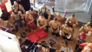 Download WWE Action figure set up - RAW Addition Video