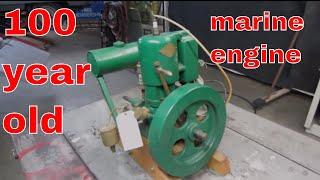 Download Will It Run? antique Marine engine sitting 35 years. Video