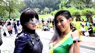 Download Comic Fiesta 2017 Outside KLCC Video