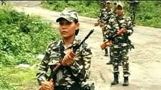Download Women security personnel at the open Indo-Bhutan border Video