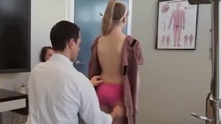 Download Dr Ian - EXTREMELY FLEXIBLE GIRL receives GONSTEAD ADJUSTMENT Video