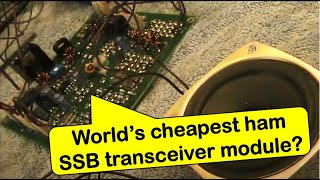 Download Review: Low cost Bitx40 7 MHz SSB transceiver module Video