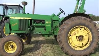 Download A look at all the tractors at the Haynes rally Video