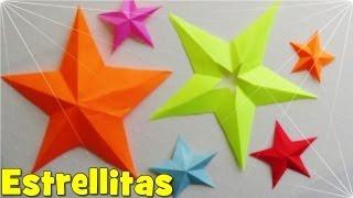 Download Cómo hacer una Estrella de Papel de 5 Puntas Video