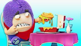 Download Oddbods | Fine Dining | Funny Cartoons For Children | Oddbods & Friends Video