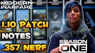 Download Modern Warfare: 1.10 Update Patch Notes | .357 Nerf, Shield Buff & More Video