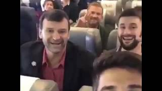 Download Brazil soccer team before plane crash inside video Video