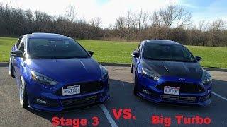Download Big Turbo Focus ST VS. Stage 3 Focus ST ! - Episode 9 - Focused Garage Video
