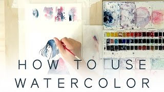Download HOW TO USE WATERCOLOR - Introduction Tutorial Video