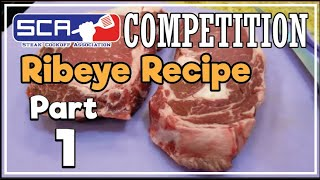 Download Ribeye Steaks SCA Contest Texas How-To Perfectly Cook by Grand Champion Harry Soo SlapYoDaddyBBQ Video