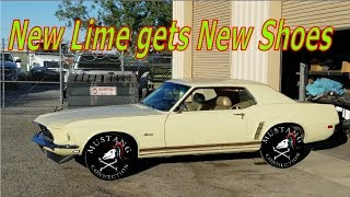 Download 1969 Mustang Restoration New Time for the New Lime part 27 Mustang Connection Video