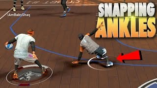 Download Playmaker SNAPPING ANKLES & 98 Overall Glitchers? - NBA 2K17 MyPark Video