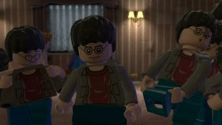 Download LEGO Harry Potter Years 5-7 Walkthrough Part 15 - Year 7 Deathly Hallows Part 1 - The Seven Harrys Video