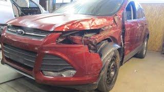 Download Ford Escape. Body repair. Ремонт кузова. Video