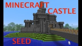 Download MINECRAFT CASTLE + AWESOME SEED Video
