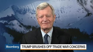 Download Max Baucus Says Tariffs Won't Slow Down `Made in China 2025' Video