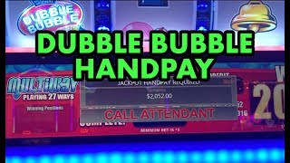 Download HIGH LIMIT JACKPOT HANDPAY on DUBBLE BUBBLE slot machine (partially muted) Video