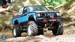 Download RC Scale Trucks Offroad Adventure Day Trip 🚩 Toyota Hilux - Land Rover Defender - Jeep Wrangler Video