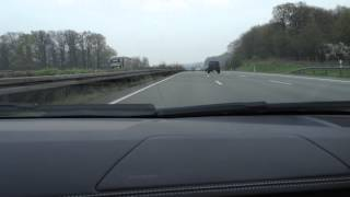 Download 320 km/h (200 mph) on German Autobahn - Lamborghini Aventador LP 700-4 - Ride,Acceleration,Sound Video