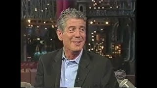 Download Anthony Bourdain Collection on Late Show, 2000-2011 Video