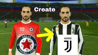 Download How To Create JUVENTUS Team ★ Kit Logo & Players ★ Dream League Soccer 2018 Video