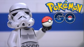Download Lego Star Wars: Clones play Pokemon Go Video