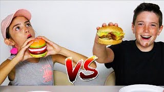 Download SQUISHY FOOD vs REAL FOOD CHALLENGE!! Video