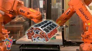 Download German BMW Engine Block Casting - Super Car Engine Body CNC Lathe Video