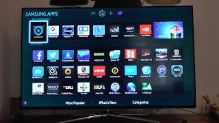Download Samsung Smart LED TV H6270 unboxing and initial setup [HD] Video
