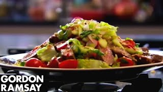 Download How to Cook Steak and Spicy Beef Salad Recipe - Gordon Ramsay Video