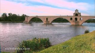 Download Avignon, France: Youthful City in Medieval Walls Video