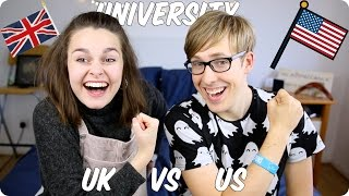 Download University! British VS American | Evan Edinger & Meowitslucy Video