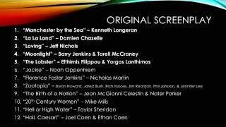 Download Oscar 2017 Prediction (09/30/2016) Video