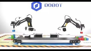 Download How to connect the Dobot Magician with a conveyor belt? Video