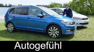 Download All-new Volkswagen VW Touran FULL REVIEW test driven MPV 2016 - Autogefühl Video