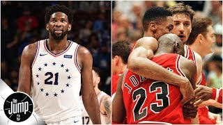 Download Scottie Pippen to sick Joel Embiid: Do what I told Michael Jordan to do before 'flu game' | The Jump Video