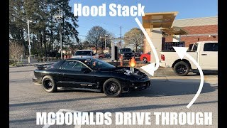Download Taking my 8 SECOND STREET CAR to the drive through!!! 5.3 powered boosted rooster ! Video