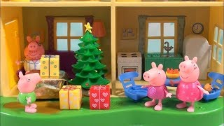 Download Peppa Pig: Peppa Pig Happy Family and Friends Christmas Story with Presents and Pajamas Video