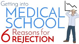 Download How to Get Into Medical School | 6 Reasons for Rejection Video