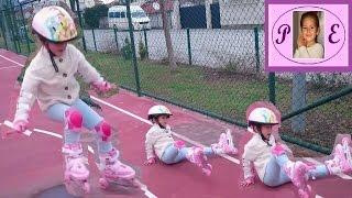 Download Учимся кататься на роликах. Кемер мунлайт парк.Learn roller skates. Video