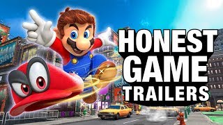 Download SUPER MARIO ODYSSEY (Honest Game Trailers) Video