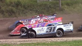 Download Topless RUSH Crate Late Model Heat Three | Genesee Speedway | 9-17-17 Video