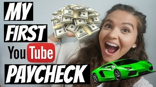Download First Youtube Paycheck | How Many Views Do You Need To Get Paid? Video