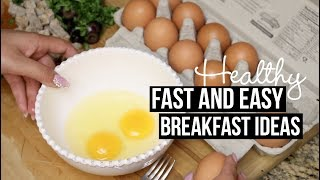 Download FAST AND EASY HEALTHY BREAKFAST IDEAS + TUTORIAL Video