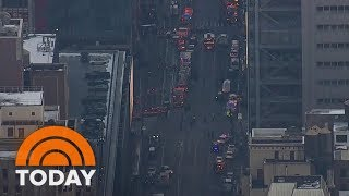 Download Explosion Takes Place Near New York City Port Authority | TODAY Video