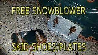 Download Making snowblower skid shoe plates - FREE! Video