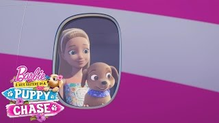 Download Barbie™ & Her Sisters in a Puppy Chase Exclusive Sneak Peek with Hunter & Scout | Barbie Video